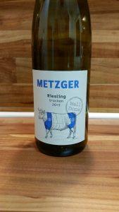 Metzger, Pfalz – Riesling Well Done trocken 2013