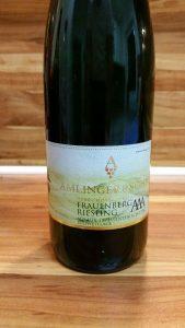 Amlinger & Sohn, Mosel – Frauenberg Riesling AAA trocken 2012