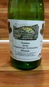 Oliver Koch, Franken – Klingenberger Schlossberg Silvaner trocken 2014