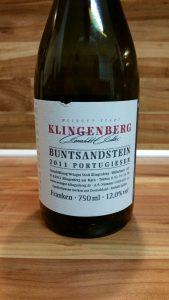 Weingut der Stadt Klingenberg, Franken – Buntsandstein Portugieser trocken 2011