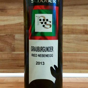 Pichler-Schober, Südsteiermark, Österreich – Grauburgunder Ried Nebenegg trocken 2013