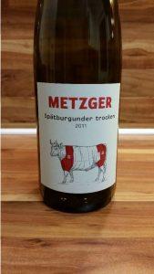 Metzger, Pfalz – Spätburgunder trocken 2011