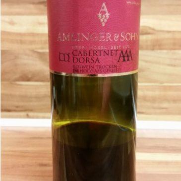 Amlinger & Sohn, Mosel – Cabernet Dorsa AAA trocken 2011