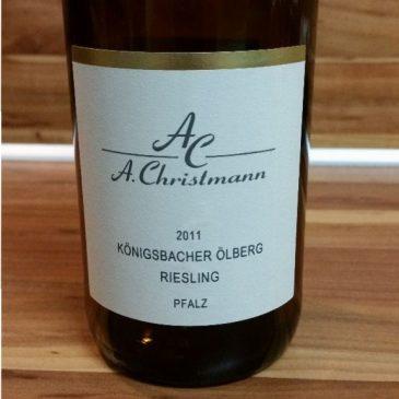 A. Christmann, Pfalz – Königsbacher Ölberg Riesling trocken 2011
