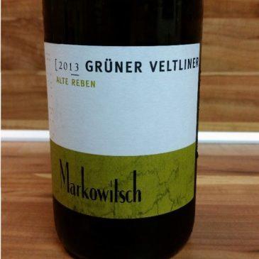 Gerhard Markowitsch, Carnuntum, Österreich – Grüner Veltliner Alte Reben trocken 2013