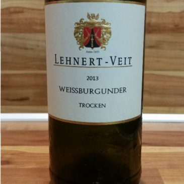 Lehnert-Veit, Mosel – Weißburgunder trocken 2013