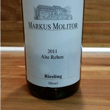 Markus Molitor, Mosel – Alte Reben Riesling trocken 2011