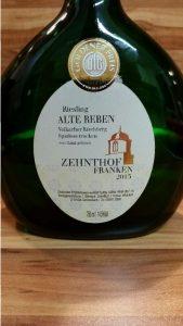"Zehnthof Weickert, Franken – Volkacher Kirchberg Riesling Spätlese ""Alte Reben"" trocken 2013"