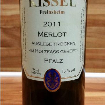 Kissel, Pfalz – Merlot Auslese trocken 2011