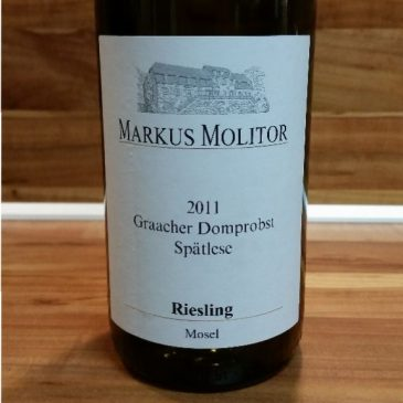 Markus Molitor, Mosel – Graacher Domprobst Spätlese trocken 2011