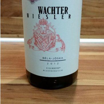 Wachter-Wiesler, Südburgenland, Österreich – Bela Joska Blaufränkisch Eisenberg DAC trocken 2012