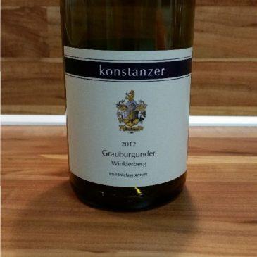 Konstanzer, Baden – Ihringer Winklerberg Winklen Grauburgunder Spätlese Holzfass trocken 2012