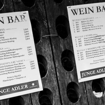 """""""Junge Adler"""" im Weingut Schätzel, Nierstein am 20.03.2016"""