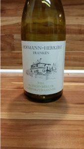 Hofmann-Herkert, Franken – Klingenberger Gewürztraminer halbtrocken 2014