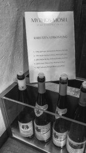 Quasi als Bonus: Eine schöne Raritätenprobe im Weingut Julius Treis