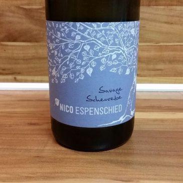 """Nico Espenschied, Rheinhessen – Scheurebe """"Savage"""" trocken 2015"""