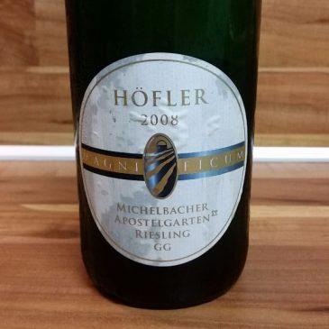 Höfler, Franken – Michelbacher Apostelgarten Riesling GG 2008