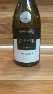 "Kremers Winzerhof, Franken - Großheubacher Bischofsberg Silvaner ""The First"" 2014"