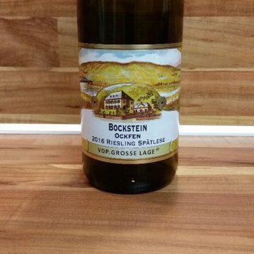 S. A. Prüm, Mosel – Ockfener Bockstein Riesling Spätlese 2016 – ein Wein vom Discounter