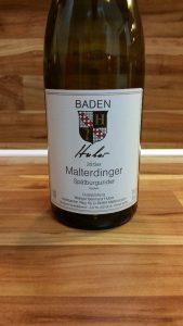 Bernhard Huber, Baden - Malterdinger Spätburgunder trocken 2013