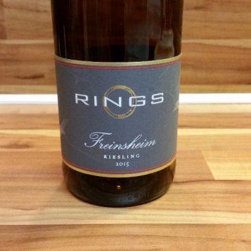 Rings, Pfalz – Freinsheimer Riesling trocken 2015