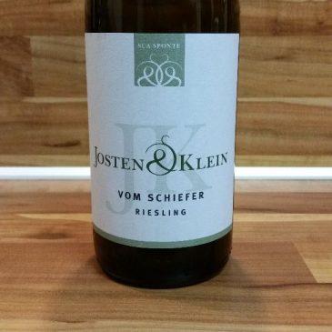 Josten & Klein, Mittelrhein – Vom Schiefer Riesling trocken 2015