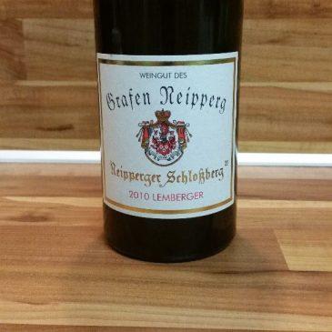 Weingut des Grafen Neipperg, Württemberg – Neipperger Schlossberg Lemberger GG 2010