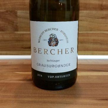 Bercher, Baden – Jechtinger Grauburgunder trocken 2014