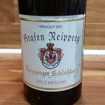 Weingut des Grafen Neipperg, Württemberg – Neipperger Schlossberg Riesling GG 2013