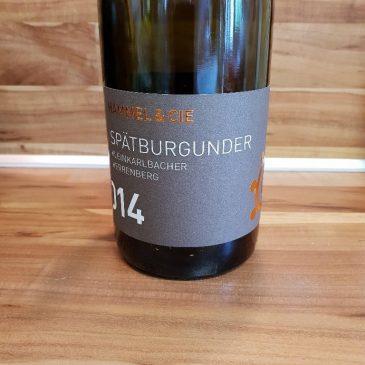 Hammel & Cie., Pfalz – Kleinkarlbacher Herrenberg Spätburgunder trocken 2014