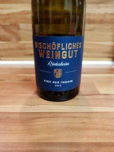 Bischöfliches Weingut Rüdesheim, Rheingau - Rüdesheimer Pinot Noir trocken 2013 3