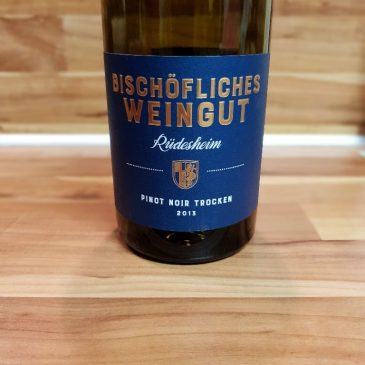 Bischöfliches Weingut Rüdesheim, Rheingau – Rüdesheimer Pinot Noir trocken 2013