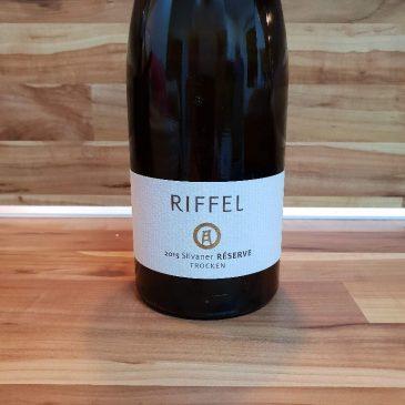 Riffel, Rheinhessen – Silvaner Réserve trocken 2015, Rheinischer Landwein