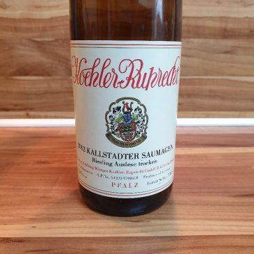 Köhler-Ruprecht, Pfalz – Kallstadter Saumagen Riesling Auslese trocken 2012