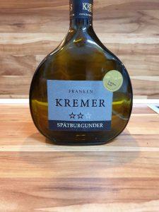 Kremers Winzerhof, Franken - Großheubacher Bischofsberg Spätburgunder trocken 2016