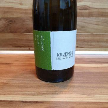 """Ökologischer Weinbau Kraemer, Franken – Silvaner Steillage """"Silex"""" trocken 2015"""