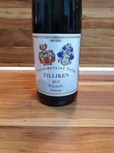 """Forstmeister Geltz Zilliken - Saarburger Rausch Riesling """"Diabas"""" feinherb 2012"""