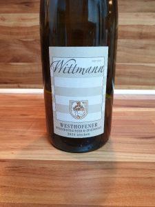 Wittmann, Rheinhessen - Westhofener Weisser Burgunder & Chardonnay trocken 2014