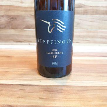 Pfeffingen, Pfalz – Ungsteiner Herrenberg Scheurebe -SP- trocken 2016