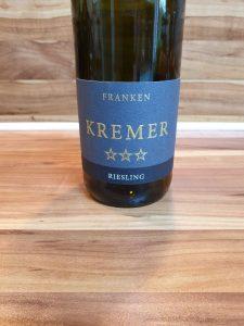 Kremer, Franken - Großheubacher Bischofsberg Riesling *** trocken 2017