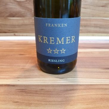 Kremer, Franken – Großheubacher Bischofsberg Riesling *** trocken 2017