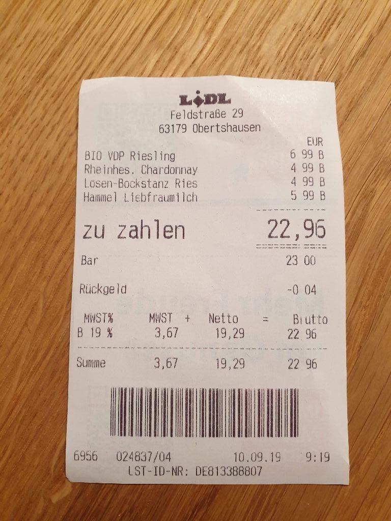 Realitatscheck 2019 Weinwoche Bei Lidl Da Wein Einkaufen Wo Die Meisten Deutschen Es Tun Wege Zum Wein Deutsche Weine Und Europaische Weine