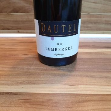 Dautel, Württemberg – Gipskeuper Lemberger trocken 2014
