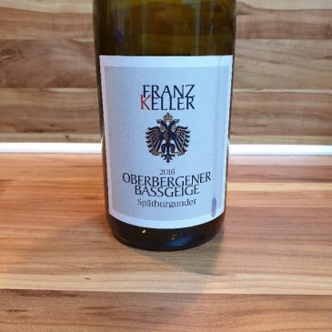 Franz Keller, Baden – Oberbergener Bassgeige Spätburgunder trocken 2016