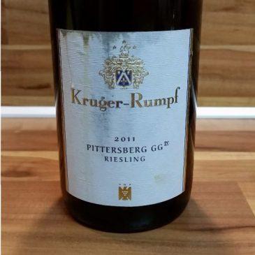 Kruger-Rumpf, Nahe – Münsterer Pittersberg Riesling GG 2011