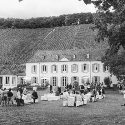 Weingut von Othegraven mit dem Kanzemer Altenberg